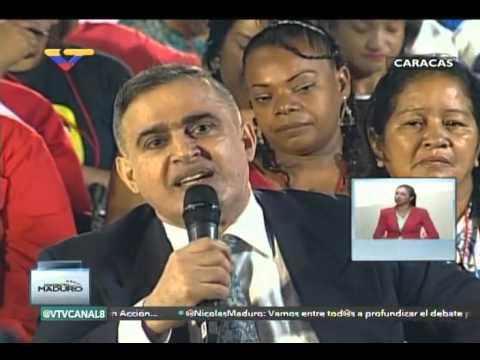 En Contacto con Maduro #51, parte 11/17, Consejos Presidenciales, habla Tarek William Saab