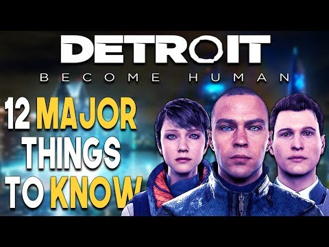 Detroit Become Human 12 MAJOR Things to Know BEFORE You BUY!