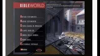 Gambar cover BibleWorld - La Bibbia per iPad come non l'avete mai letta [ITA]