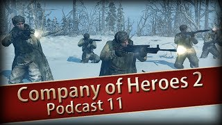 COMPANY OF HEROES 2 #11 - Maxim Maschinengewehre ★ Shoutcasts ★