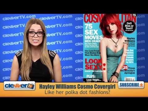 Hayley Williams Looking Stylish As Cosmopolitan Magazine Covergirl