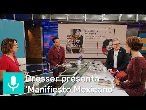 Denise Dresser presenta su libro 'Manifiesto Mexicano' en Despierta - Despierta con Loret