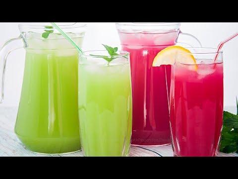 Освежающие напитки в домашних условиях