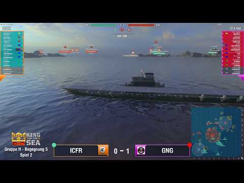 World of warships - King of the Sea VI - ICFR vs GNG