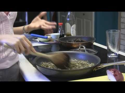 Healthy Cooking 3: Sprouted Lentil Stir Fry & Mushrooms Recipe: Celina Food Smarty