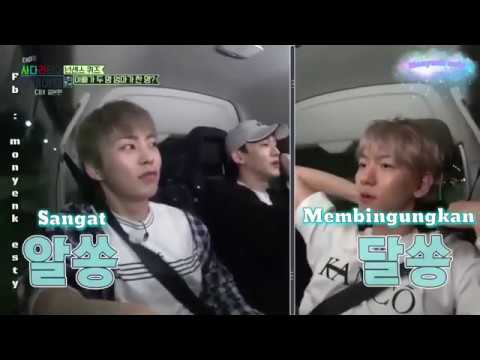 [ INDO SUB ]travel the world on EXO's ladder CBX JAPAN EDITION EP 36