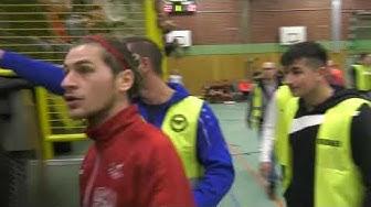 36. HFSM: 2020: Lüner SV - Türkspor Dortmund: Foulszenen