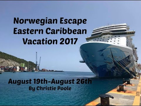 Norwegian Escape Eastern Caribbean Vacation 2017
