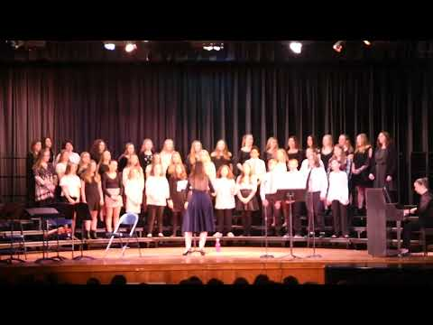 This is Gospel by Panic at the Disco! performed by the Wall Intermediate School Choir