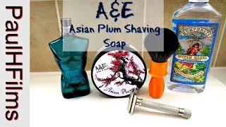 A&E * Asian Plum * Shaving Soap