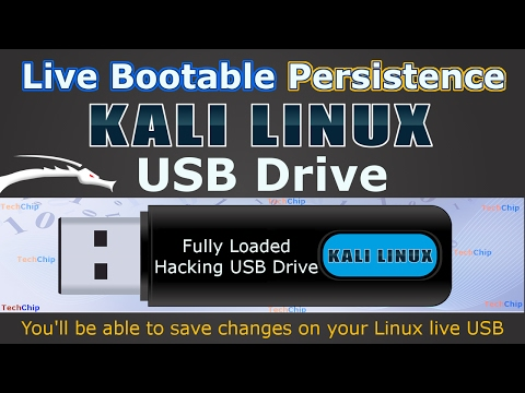 how to install linux on a usb hard drive