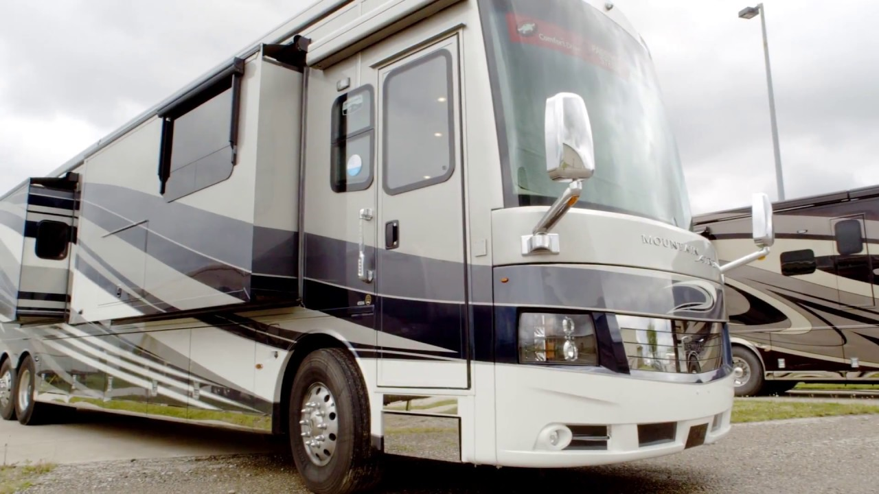2018 newmar mountain aire official review luxury class a for Mountain aire