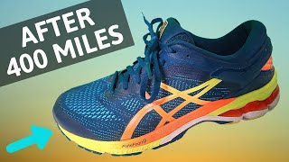 Asics Gel Kayano 26 AFTER 400 MILES | Running Shoe REVIEW | Here We Are Running