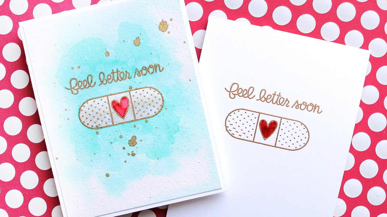 simple get well cards youtube