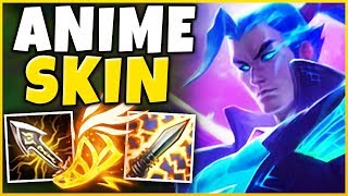 *2v5 PENTAKILL* THE GREATEST YASUO COMBO EVER (ANIME ONE-SHOTS) - League of legends