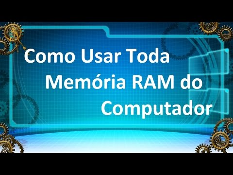 AUMENTAR MEMORIA RAM Do PC | Windows 7, 8, 8.1, 10