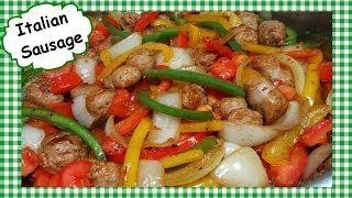 Italian Sausage Onions and Peppers Stir Fry Recipe