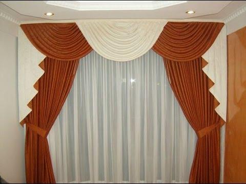 Como hacer cortinas con ondas youtube for Como hacer cortinas corredizas