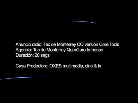 Anuncio de radio para Tec de Monterrey