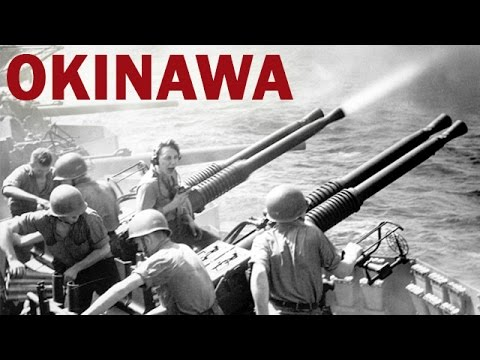 Battle of Okinawa | Japanese Kamikaze Attacks on US Ships | Pacific War | US Navy Documentary | 1945