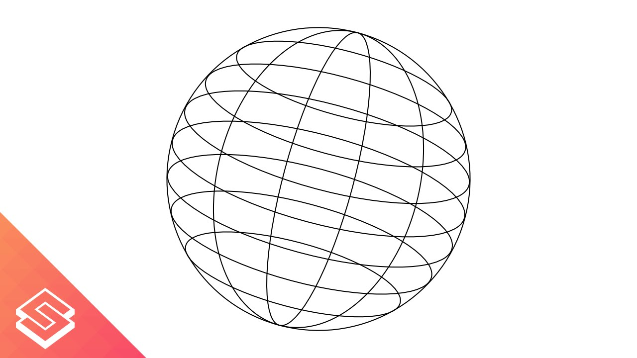 Inkscape For Beginners: Wire Frame Globe/Sphere