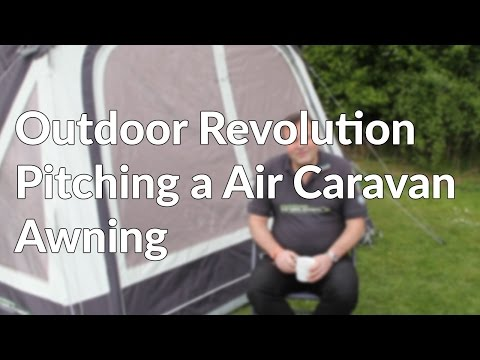 How To and Guide to Pitching a Air Caravan Awning