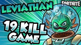 NEW SKIN LEVIATHAN 19 KILL GAME | Fortnite