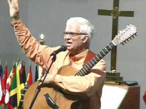 Rob ♥ Wendy Jacobson at Corry, PA UM Missions Conference ministering Biblesongs