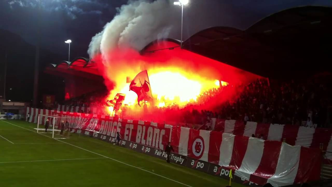Fc Sion Xamax Le Feu Au Stade Youtube