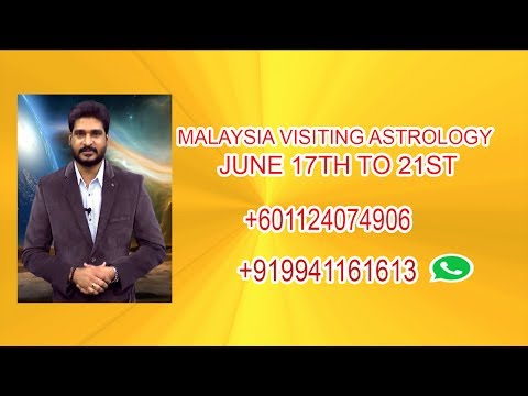 Malaysia Visiting Astrologer From Headlines Tv