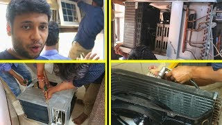 WINDOW AC WET SERVICE 750 Rs. [Hindi]