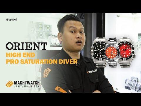 3 Jam Tangan Professional Diver | Ada Indikator Power Reserve