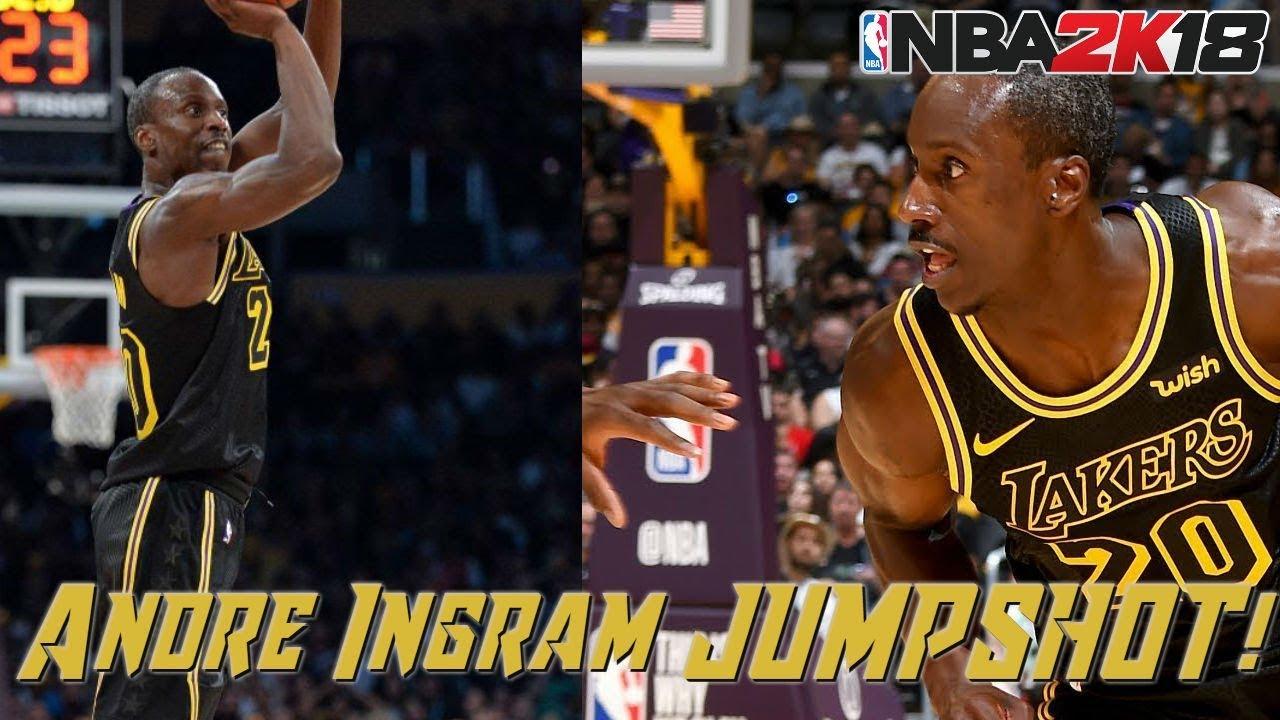 bea107860 Remaking ANDRE INGRAM S JUMPSHOT! Most WET JUMPSHOT! - NBA 2K18 MyCareer  Gameplay