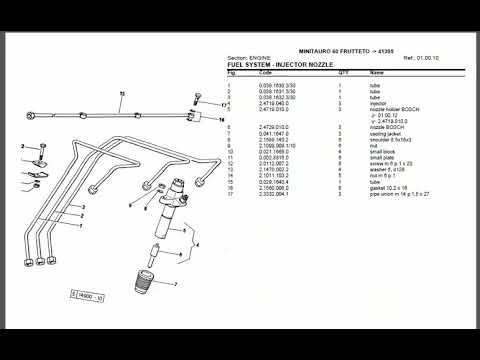 Same Minitauro 60 Service Manual