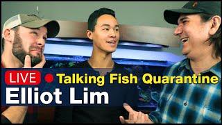 Talking saltwater fish quarantine and husbandry w/ Elliot Lim of Marine Collectors!