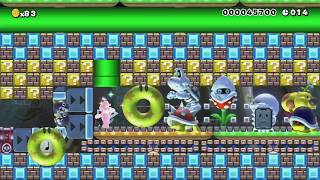 ◆●Speed run spécial -Mark-●◆ by monstre - Super Mario Maker - No Commentary