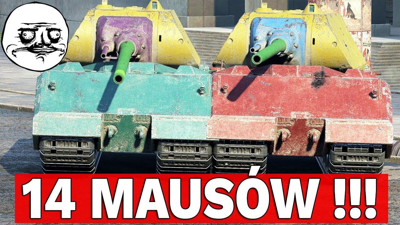 ROBIMY MUR Z MAUSÓW! – World of Tanks