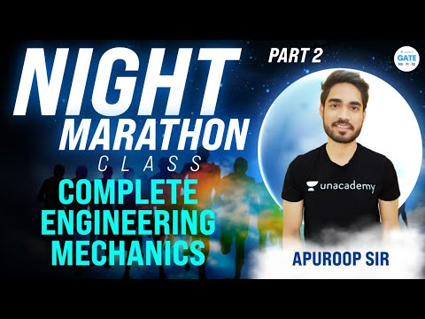Night Marathon   Complete  Engineering Mechanics - 2    By Apuroop Sir
