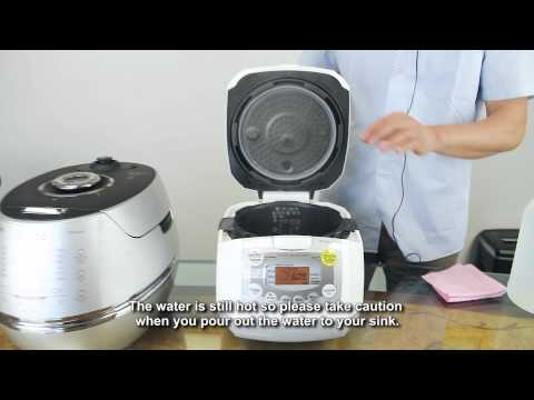 CuckooMallUSA - Rice Cooker Maintenance Video