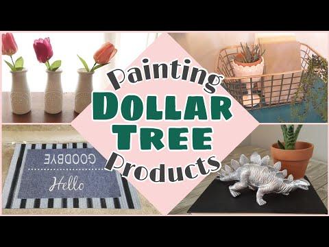 Painting Dollar Tree • Dollar Tree DIYs