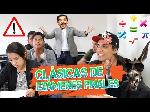 CLÁSICAS DE EXÁMENES FINALES  | DeBarrio