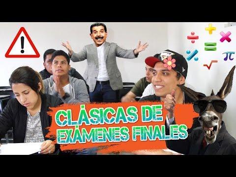 CLÁSICAS DE EXÁMENES FINALES    DeBarrio