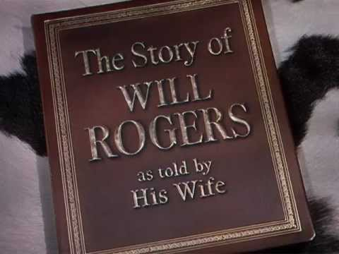 The Story of Will Rogers (1952) title sequence