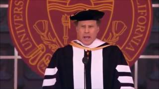 """WILL FERRELL Sings STAR TREK & Whitney's """"I Will Always Love You"""" During USC Commencement (VIDEOS)"""