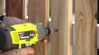 How To Build A Picket Fence - Diy At Bunnings