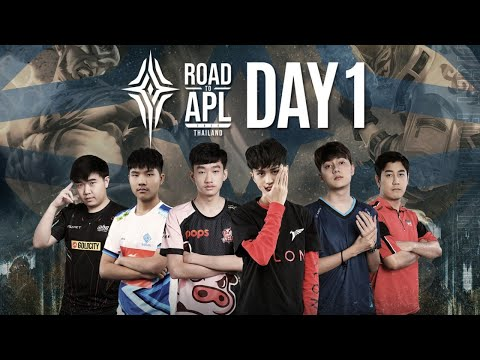 Road to APL 2020 Thailand Day 1