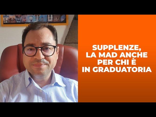 Supplenze, MAD anche per chi è in graduatoria. Cosa cambia dopo la nota del MI?