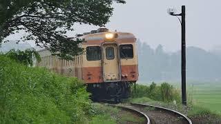 ひたちなか海浜鉄道キハ205+キハ2004(2015年6月)