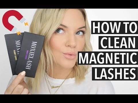 HOW TO CLEAN MAGNETIC LASHES | MoxieLash