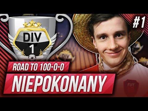 FIFA 18 - NOWA SERIA! NIEPOKONANY - DROGA DO 100-0-0! CHALLENGE! FIFA ULTIMATE TEAM!